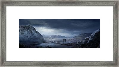 Winter Framed Print by Philip Straub