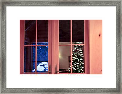 Winter Reflections  Framed Print by Ann Murphy