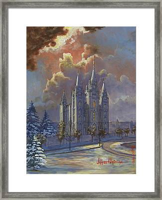 Winter Solace Framed Print by Jeff Brimley