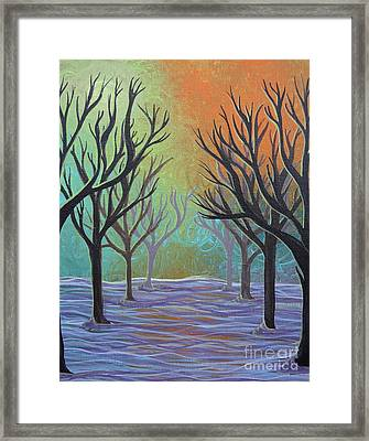 Winter Solitude 11 Framed Print