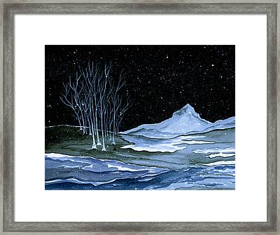 Winter Solstice Framed Print by Brenda Owen