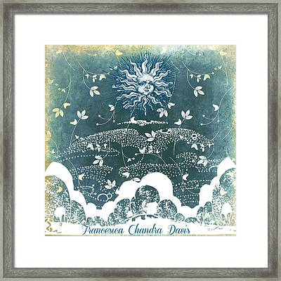Winter Solstice Framed Print by Sacred  Muse