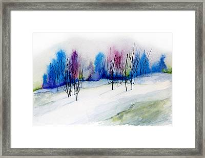 Winter Sorbet Framed Print