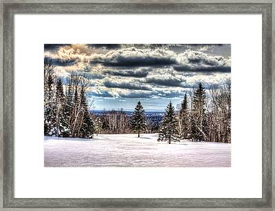 Winter Time Framed Print by Gary Smith