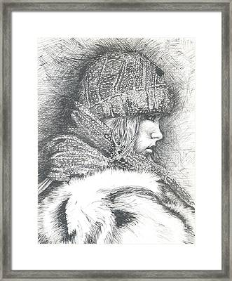 Winter Winter.... So What Framed Print by Jovica Kostic