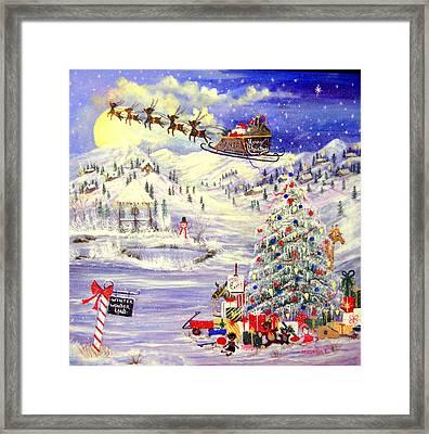 Winter Wonder Land Framed Print by Janna Columbus