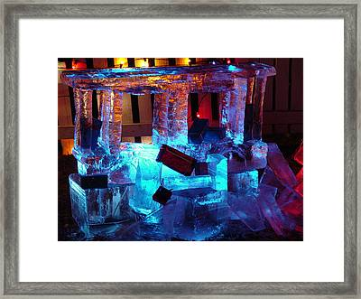 Winter Wonderland Framed Print by Elizabeth  Sullivan