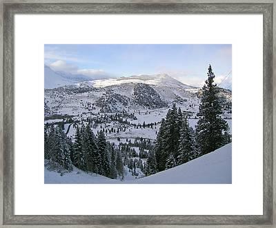 Winter Wonderland Fine Art Print Framed Print by Ian Stevenson