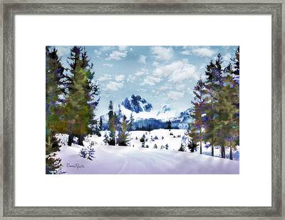 Winter Wonderland Framed Print
