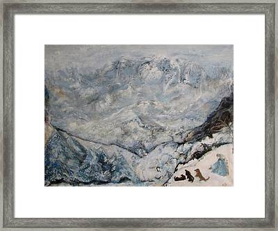Winterlude Framed Print by Susan Hanlon