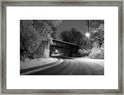 Winter's Beauty Framed Print by Joel Witmeyer