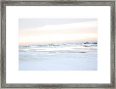Winters Bright Light Framed Print