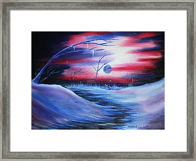 Winter's Frost Framed Print by Shadrach Ensor