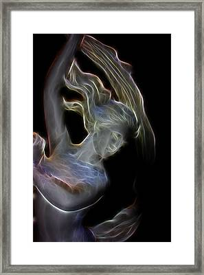 Framed Print featuring the photograph Winters Night by Joetta West