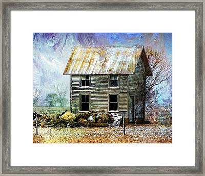 Winter's Tale Framed Print by Dominic Piperata