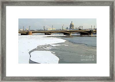 Winterwinterpeterburg Framed Print by Yury Bashkin