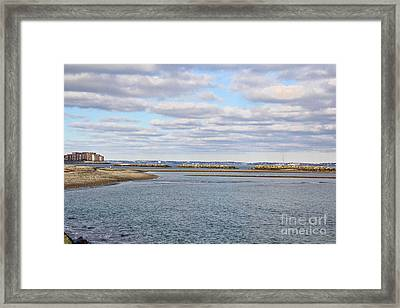 Winthrop Beach Framed Print by Extrospection Art
