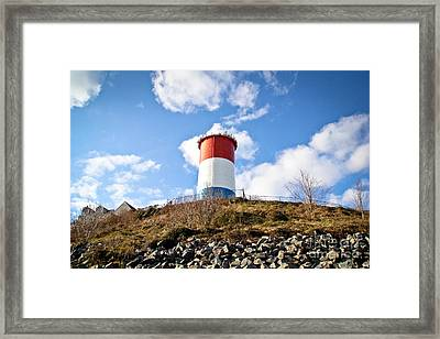 Winthrop Water Tower Framed Print by Extrospection Art