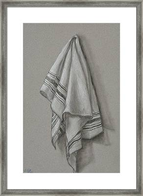 Wipe It Away Framed Print
