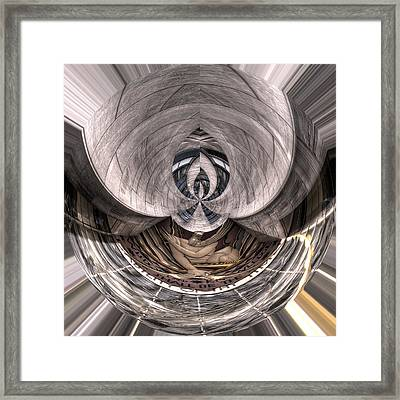 Wisdom And Knowledge Will Be The Stability Of Thy Times Framed Print