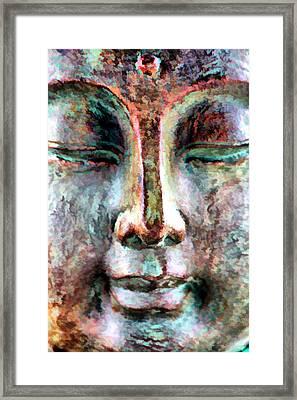 Framed Print featuring the digital art Wisdom by Brian Davis