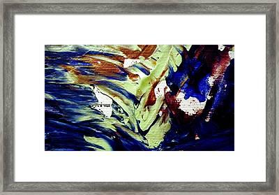 Wise Owl Gliding Framed Print by Sheila Van Houten
