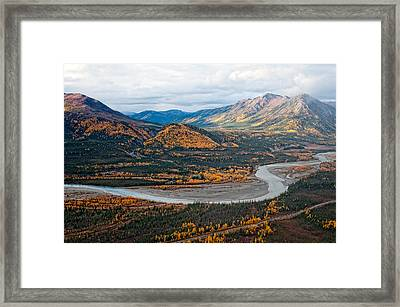 Wiseman Alaska Framed Print