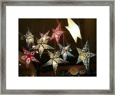 Framed Print featuring the photograph Wish Upon A Star by Shawn Hughes