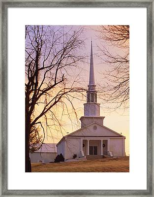 Wish You Were Here Framed Print by Karen Wiles