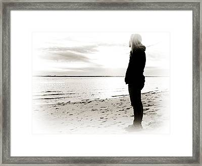 Wishing Framed Print by Vicki Jauron