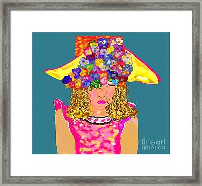 Wishing You Were Here 2 Framed Print by Lori  Lovetere
