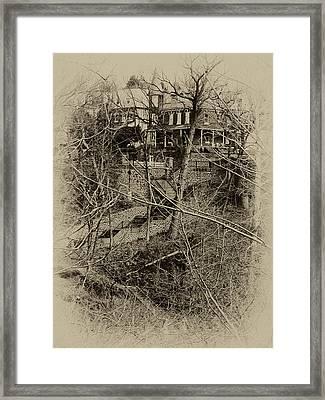 Wissahickon's 100 Steps Framed Print by Bill Cannon