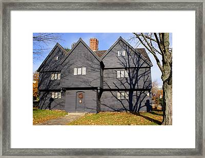 Witch House Framed Print by Lois Lepisto