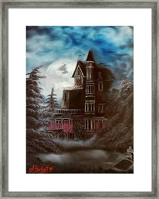 Witches Hollow 2011 Framed Print by Shawna Burkhart