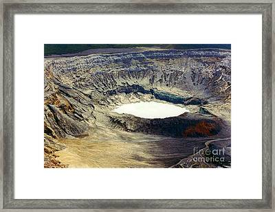 Witch's Caldron Framed Print by Randy Edwards