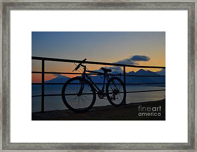 With Or Without You Framed Print