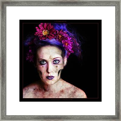 Withered Framed Print by Robert  Adelman