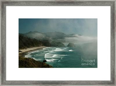 Within The Fog Framed Print