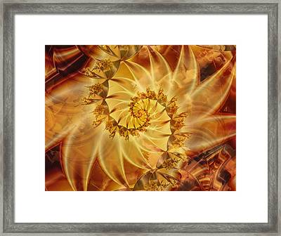 Within The Sun Framed Print