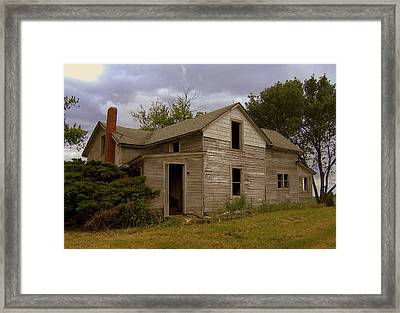 Without A Trace 2 Framed Print by Claude Oesterreicher