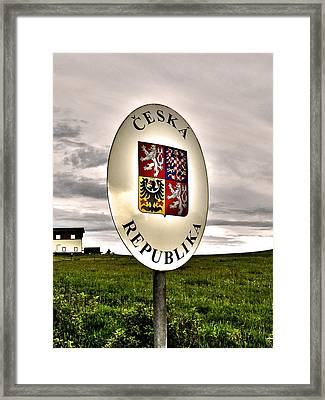 Without Borders ... Framed Print by Juergen Weiss