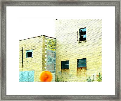 Witness  Framed Print by Lin Haring