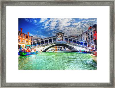 Woke Up In Venice Framed Print by Barry R Jones Jr