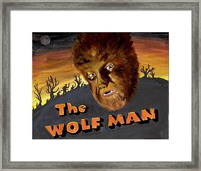 Wolf Bane Baby Framed Print