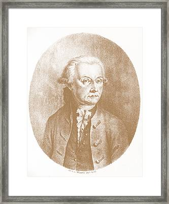 Wolfgang Amadeus Mozart, Austrian Framed Print by Photo Researchers, Inc.