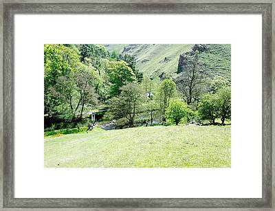 Wolfscote Dale From Gipsy Bank Framed Print by Rod Johnson