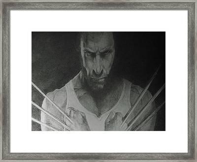 Wolverine Framed Print by Glenn Daniels