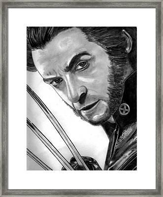 Wolverine Framed Print by Ralph Harlow