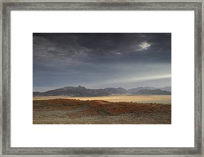 Wolwedans Framed Print by Christian Heeb