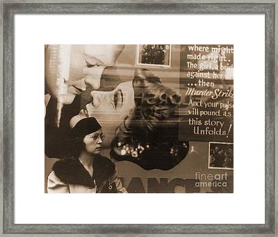 Woman By 1938 Movie Poster Framed Print